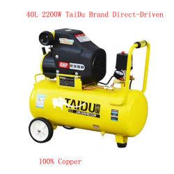 Las piezas del coche tornillo portátil AC de alta presión de mano industrial compresor compresor de aire chino