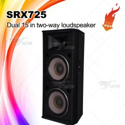 Srx725 Dual 15 Inch PA System Speaker Cabinet