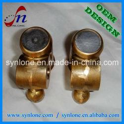 위조 및 기계로 가공 가공 금관 악기 벨브 이음쇠