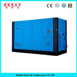 Marchio Cina migliore qualità Prezzo inferiore 5.5kw-630kw iniezione a olio compressore d'aria a vite rotante a iniezione fissa 7bar, 8bar, 10bar, 13bar 110V, 220V, 380 V, 440 V.
