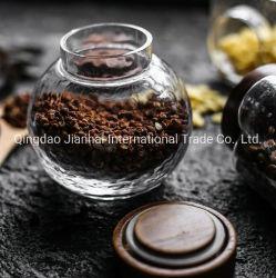 Contenitore di vetro di legno sigillato vetro del serbatoio della cucina del coperchio del vaso/