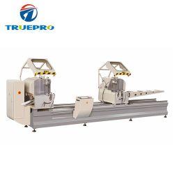 La Chine Hot Sale double tête de scie de coupe de la machinerie pour le PVC et de la fabrication de vitre de porte en aluminium
