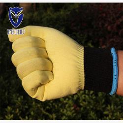外国貿易の良質の耐熱性および耐久力のある極度のナイロン帯電防止、Flame-Retardantおよび熱維持する電子工場労働の手袋を