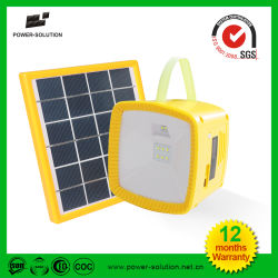 Lanterne solaire avec chargeur de téléphone mobile USB&Radio&MP3