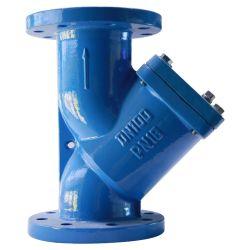 ANSI 125 lb/BS4504/JIS10K/DIN3202 F1 PN16 Fundición de hierro y el tamiz de tipo