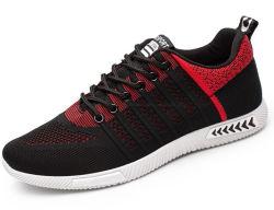 Fly загорелся спортивный обувь дышащая ткань при работающем двигателе мужчин Non-Slip молодежной моды сетка обувь