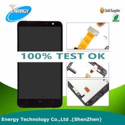 GroßhandelsHandy-Teile für Touch Screen 1320 Nokia-Lumia LCD mit Rahmen, Abwechslung für Lumia LCD Noten-Analog-Digital wandler 1320