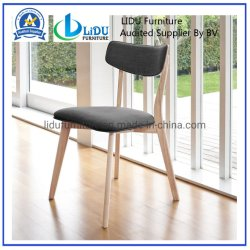 의자를 식사하는 다방 바와 대중음식점 오크재를 위한 대중음식점 가구 의자 단단한 나무 의자 디자인