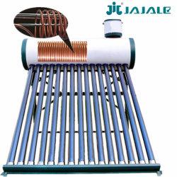100L-300L Voorverwarmde (warmtewisselaar) Vacuümbuis Zonne-waterverwarming met koperen spoelen