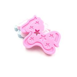 Популярные силиконовые малыша дребезжит прорезыватель игрушка круглые силиконовый прорезыватель