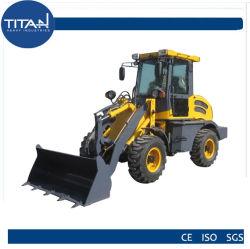 Китайской торговой марки 1,5 тонн сельскохозяйственных мини/малых колесных погрузчиков с двигателем EURO III