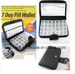 Еженедельные поездки Pocket 7 дней таблетки Wallet