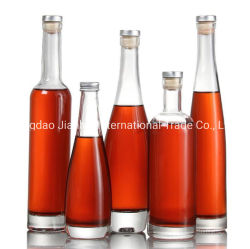 High End Red Wine Glass Bottle Ice Wine Glass Bottle