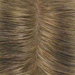 極度の自然な見る上昇によって注入される皮ベース人の自然な毛のToupee