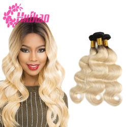 100% naturel vierge Remy Hair 613# cheveux blonds Weave Sèche cheveux raides indiens brésilien Bundle Cheveux humains