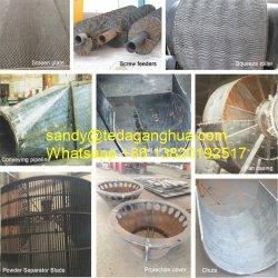 Ремонт Hardfacing износостойкости стальную трубу колено площади для скрытых полостей фланцевую пластину для сочных продуктов питания