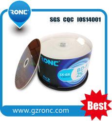 25GB/50GB de disco Blu-ray imprimible con paquete de 50PCS BD-R