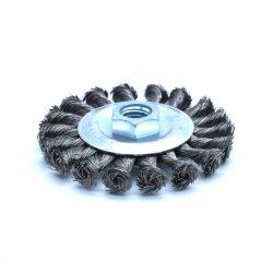 Spazzola Twisted W/Thread della rotella del nodo per la smerigliatrice di angolo
