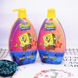 Etiqueta Privada OEM Bob Esponja Kids Bodywash gel de duche