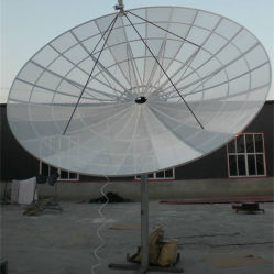 大きい衛生放送受信アンテナのアンテナ2.4m/3m/3.7m/4.5m/450cm/16 Feet/5m Cバンド衛星アルミニウム網