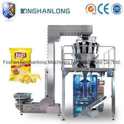 Chips de patata automático/frutas desecadas/Caramelos/tuerca con un peso de la máquina de embalaje