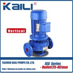Pomp van het Water van de Pijpleiding van de Reeks ISG de Verticale Centrifugaal (outlet25-40mm)