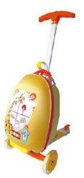 """Playshion Kid's Egg Bagages enfants multi fonction Scooter Scooter valise bagage à main pour les voyages et l'école 15"""""""