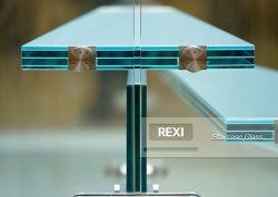 Ausgeglichenes lamelliertes Glas für das Balustrade-Geländer-Zaun-Pool, das Treppenhaus-Partition einzäunt