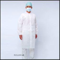 Alta qualità medica a gettare del cappotto del laboratorio delle speci o di SMS