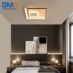 Las modernas plazas creativa Lámpara de techo LED decoración dormitorio