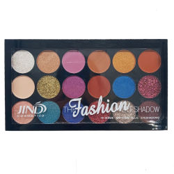 Uno scintillio delle 18 estetiche di colori pigmenta l'ombretto Shimmering della polvere allentata