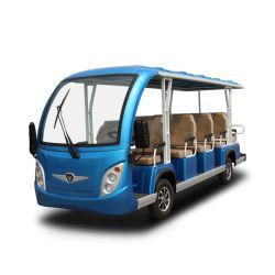 14 Auto Op batterijen van het Sightseeing van de Toerist van de Pendel van de passagier nooit roest de Klassieke Elektrische met Het Materiaal van het Ce- Certificaat & SGS van het Aluminium