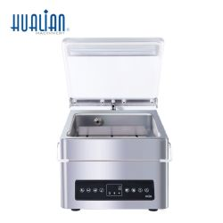 HVC-210T/1D Hualian Plastic Bag Portable Automatic Food Single Chamber Multi-Function Afdichting vacuüm verpakking Verpakkingsmachine