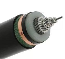 Среднего напряжения с одним ядром XLPE изоляцией провода из алюминия подземный кабель питания