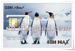 بطاقة SIM حجم 12 في 1، نسخ + قارئ بطاقات USB