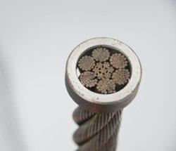 6X36Ws câble du treuil Iwrc 6X36Ws+Iwrc 6X36Ws Steel Wire Rope le câble en acier