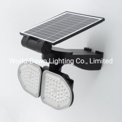 Hot Sale fácil de instalar High Power Outdoor IP65 Playground Luz de pared de emergencia resistente al agua 10W 20W lámpara de pared LED solar pared Luz