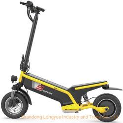 New Дешевые Adult 45km/H Offfroad Electro Scooter складной E ролик Электрический скутер E-Scooter с мопедом для движения по мобилям, 500 Вт, с подборником для сидений