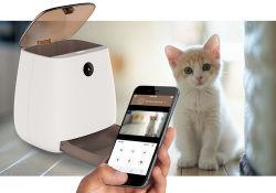 3L distributeur alimentaire chargeur automatique de chien et chat bol PET PET d'alimentation chargeur automatique avec la caméra par l'annexe de la télécommande
