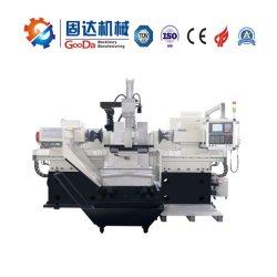 China, das neues große Geschwindigkeit CNC-Fräsmaschine-Doppelhauptmetall herstellt