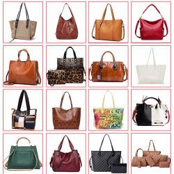 Luxury Brand Handbag Ladies方法女性デザイナー女性は市場のレプリカの肩のCrossbodyの革ディストリビューターの女性の財布習慣によってキルトにされるPUのトートバックを卸し売りする
