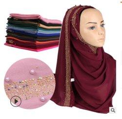 Оптовая торговля Hijabs Crinkled мягкого шифона Леди Шарфа