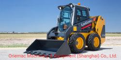 Nouveau 1 tonne Liugong Mini chargeur Skid de roue de 375A/375b avec la balayeuse de route
