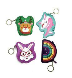 Speelgoed van Ladybag van de Beurs van het Muntstuk van de Zak van het Leer van de Beurs het MiniPu van het muntstuk Groene voor de Gift van de Meisjes van Jonge geitjes