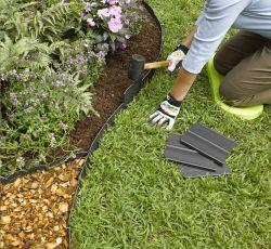 حواف طبيعية سهلة التركيب من العشب الألومنيوم
