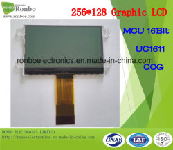 Zahn 256X128 grafische LCD-Baugruppe, UC1611, 34pin, Zahn LCD-Panel für medizinisches