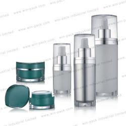 Bottiglia personalizzata in acrilico cosmetico Winpack da 15 ml 30 ml 50 ml 120 ml