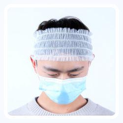Non-Woven suave Envoltura de cabeza de un SPA Cintillos Nonwoven Cabello bandas elásticas para tratamientos faciales depilación cosmética belleza SPA