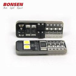 고품질 도매 6SMD 3030 T10 LED 2.8W 12V LED CANbus W5W 비극성 194 168 T10 LED