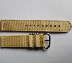 カスタマイズされた卸し売り革かナイロンまたはCrozzlingまたは布または時計バンド